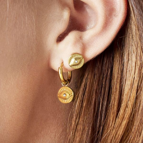 Pendientes magic eye charm