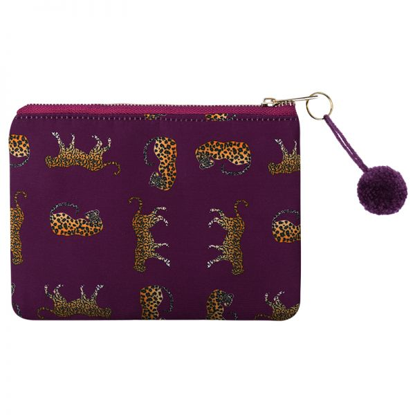 Make-up tas wild leopard