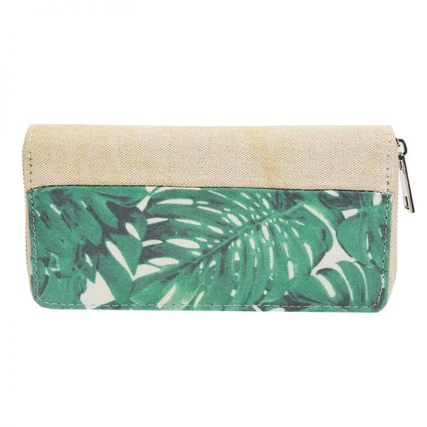 Wallet Jungle Leaves
