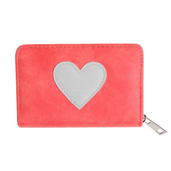 Wallet one heart.