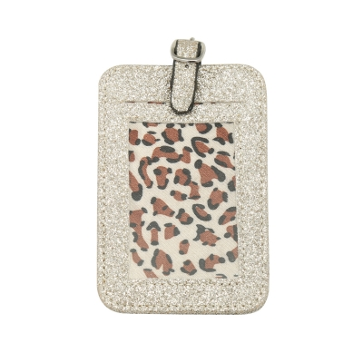 Suitcase tag Glitter