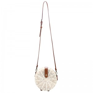 Rattan Bag Small Round