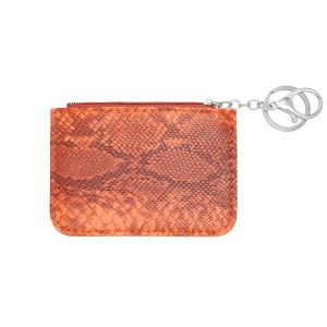 Monedero smooth snake skin