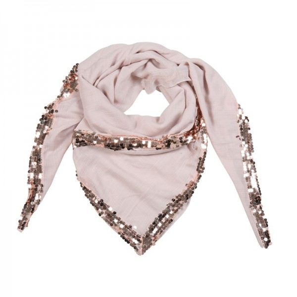 Yehwang Accessories, Scarf Sequin Queen