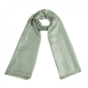 Scarf Plain Glitter Beauty
