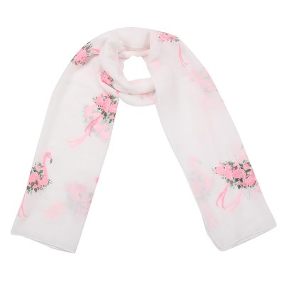 Scarf Romantic Flamingo