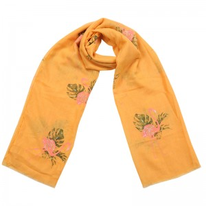 Scarf Tropical Flamingo