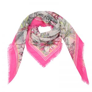 Scarf Romantic Flowers