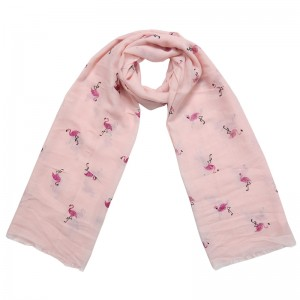 Scarf Embrace Your Inner Flamingo