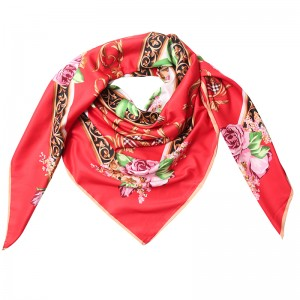 Scarf Silky Roses