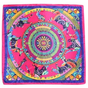 Scarf Colorful Animals