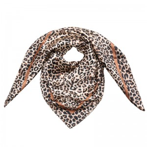 Scarf Silky Animal