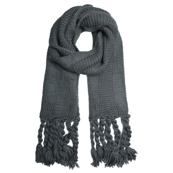 Sjaal winter knitted