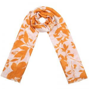 Scarf Retro Leaves