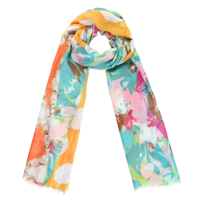 Scarf Cheerful Day