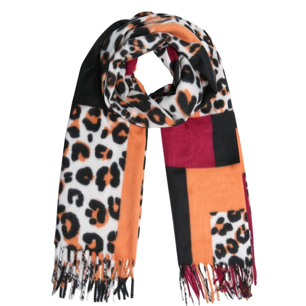 Scarf soft leopard
