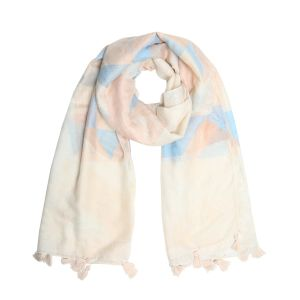 Scarf  pastel triangle