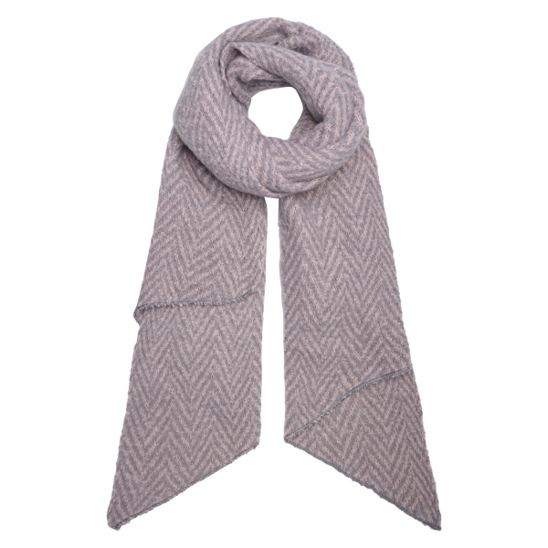 Scarf Winter Zigzag