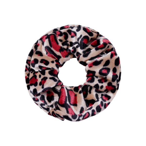 Scrunchie velvet animal