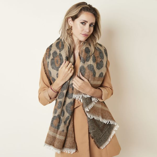 Scarf Comfy Leopard
