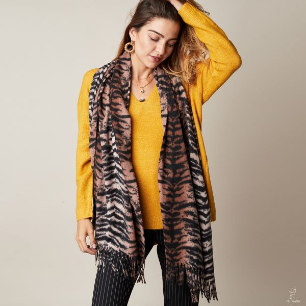 Scarf Soft Tiger