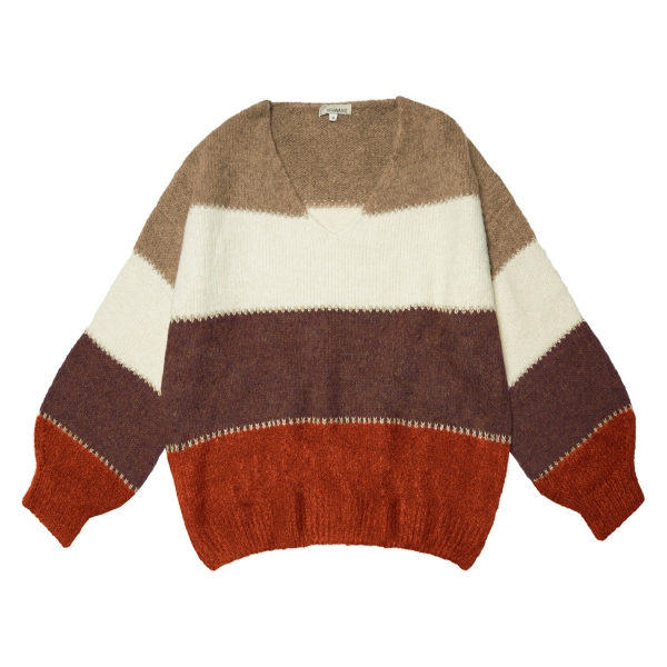 Sweater Winter Stripes