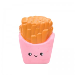 Squishy Toy Happy Fries