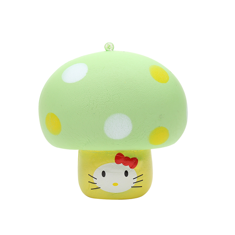 Special Products : Yehwang Accessories, Squishy Toy Green Mushroom