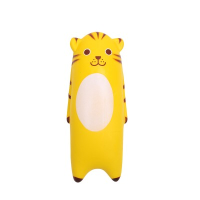 Squishy Toy Yellow Tiger