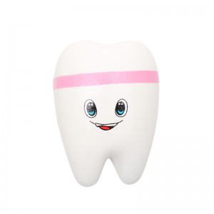 Squishy Toy Happy Tooth