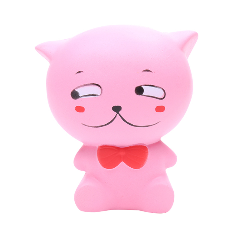 Squishy Cat Accessory : Special Products : Yehwang Accessories, Squishy Toy Happy Pink Cat