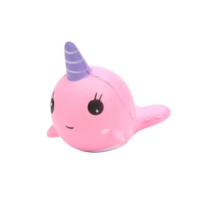 Unicorn Whale Squishy : Speciale producten : Yehwang Accessoires, Squishy Toy Happy Unicorn Whale