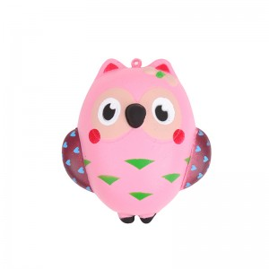 Squishy Toy Crazy Owl