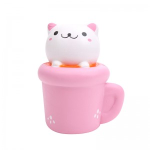 Squishy Toy Cup Cat