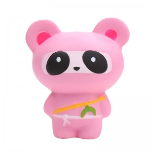 Squishy Toy Ninja Bear