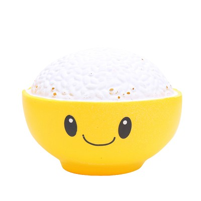 Squishy Toy Bowl of Rice