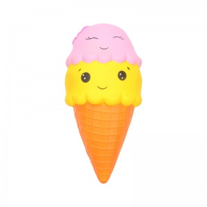 Squishy Toy Happy Icecream
