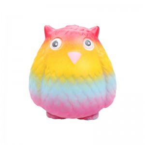 Squishy Toy Colorful Owl