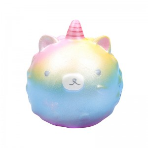 Squishy Toy Galaxy Unicorn