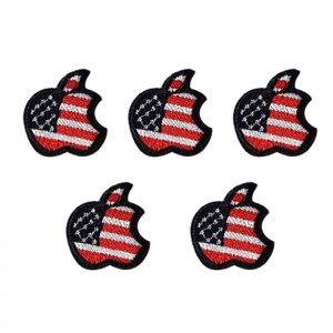 Jeans Patch US Apple