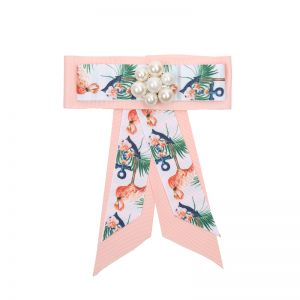 Brosche Flamingo Bow