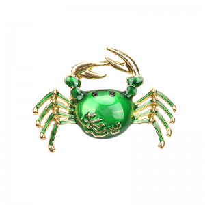 Broche Casual Crab
