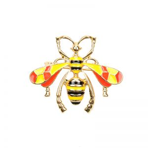 Broche Wise Wasp