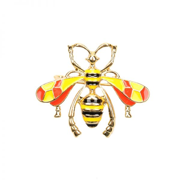 Brooch Wise Wasp
