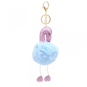 Trousseau Fluffy Flamingo