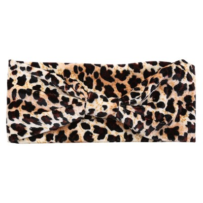 Headband Dusty Leopard