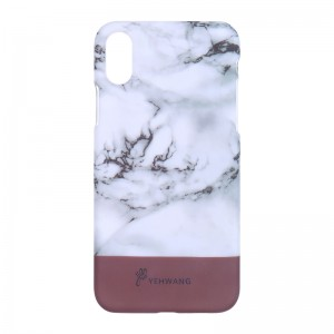 Phone Case iPhone X Marble Stripe