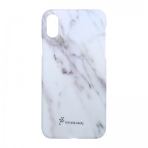 Phone Case iPhone X White Marble