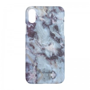Phone Case iPhone X Green Marble