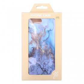 Phone Case iPhone 6/7/8 Plus Blue Marble